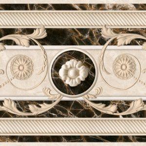 БН 93 021 13,7x43 см Бордюр напольный Интеркерама (Fenix)