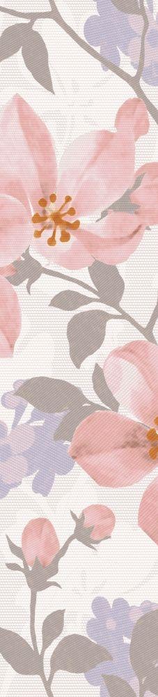 НАТАЛИ бордюр розовый 7,5х33