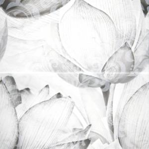 КАРРАРСКИЙ МРАМОР панно цветы 45х50 (кмп 2 шт)