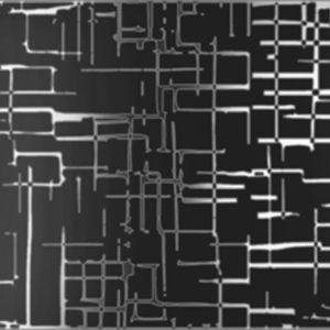 Аккорд черный декор 15х40