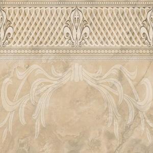 Грация палевая декор 2 42х42 Beryoza Ceramica