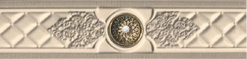Бордюр настенный Kerasol Otoman Beige Cenefa 6x25 (Otoman beige)