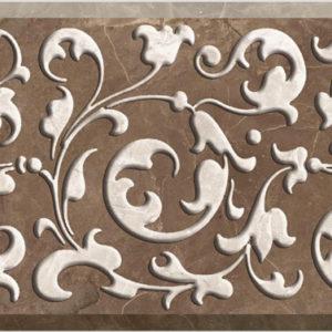 Декор настенный (150х400х9) Brava коричневый