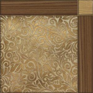 Плитка напольная 418х418 Рико коричневая