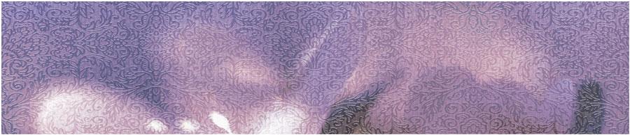 Бордюр настенный (80х364х6,5) Lila