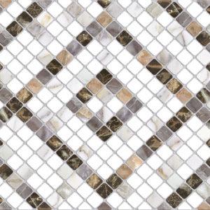 Плитка настенная (150х400х9) Stella мозаика ромб