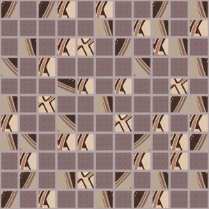 AltaCera Calypso Mosaic Night 30x30