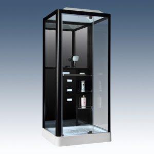 Душевая кабина Loranto Selak CS 126-3A R 90*100*215 см черная
