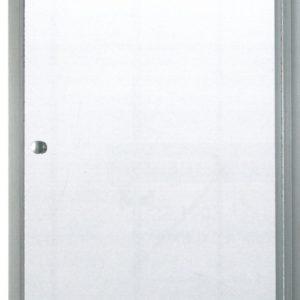 Душевая дверь Loranto D-MAN CS-2226, 90*185, прозрачное стекло 6 мм, профиль хром