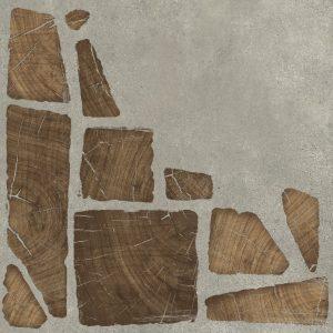 Керамогранит Cersanit Woodland серый 42x42 WL4R092
