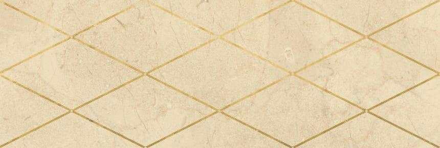 Настенная плитка декор Миланезе Дизайн 1664-0143 20х60 римский крема