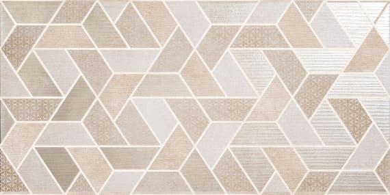Настенная плитка Дюна декор 1641-0105 40x40 геометрия