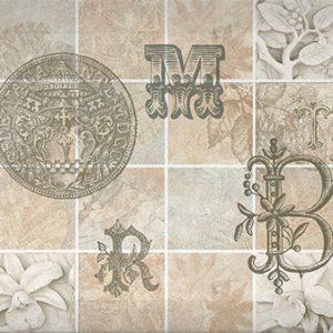 Д 128 072-4 15x40 см Декор Интеркерама (Antica)